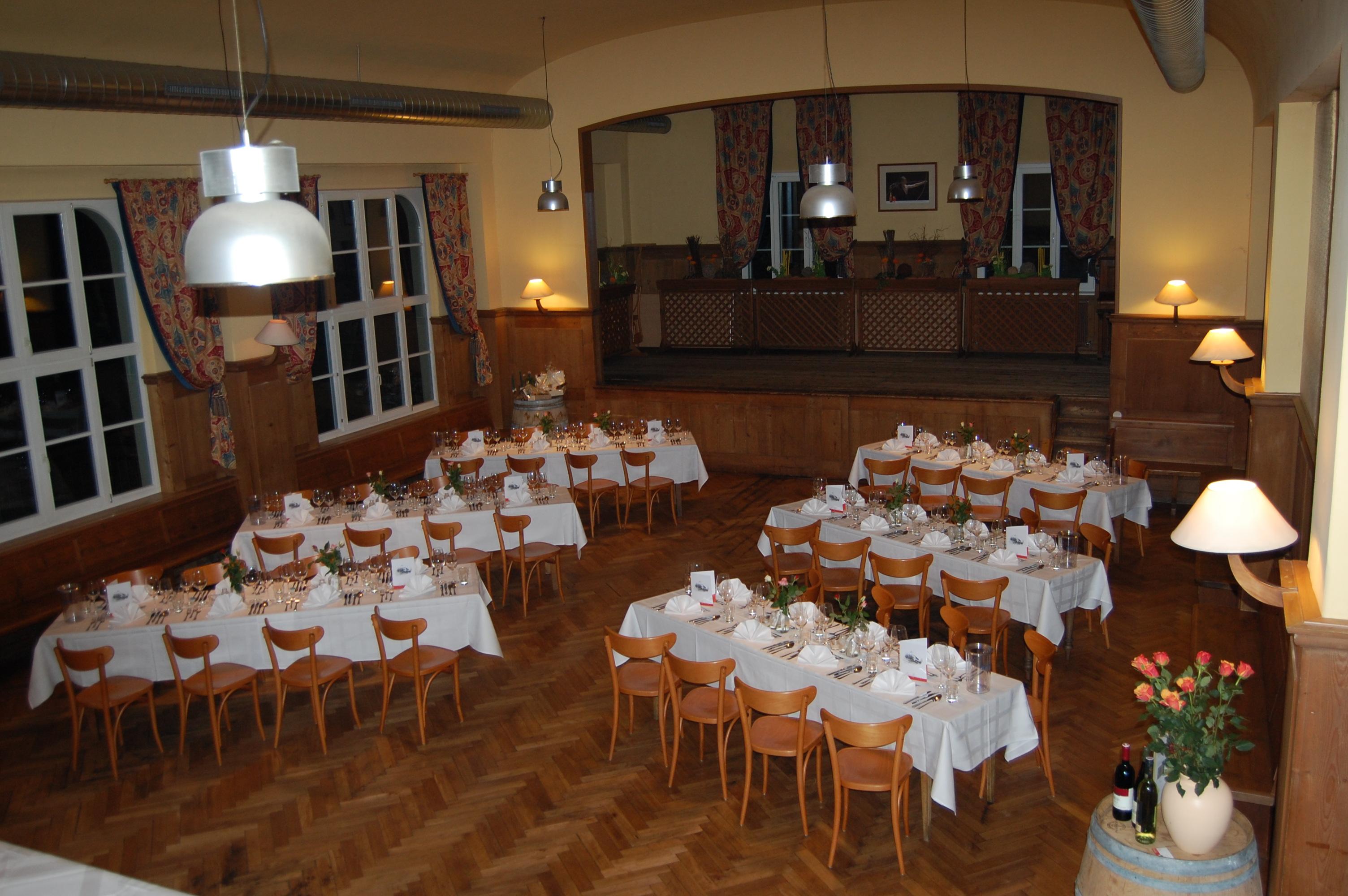 Braugaststätte Löwen Tisis - Saal mieten für Feste, Events